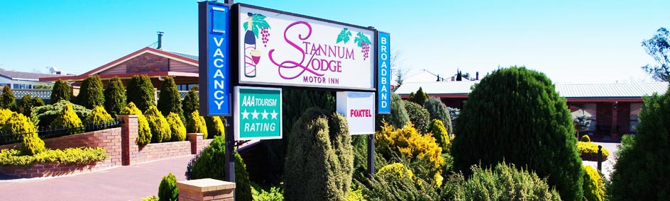 Stannum Lodge is Stanthorpe's only AAA rated 4 star motel.